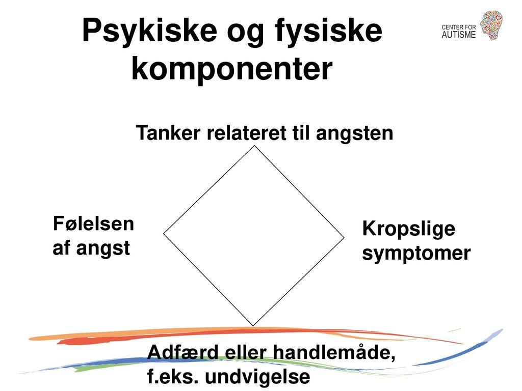 Psykiske og fysiske komponenter