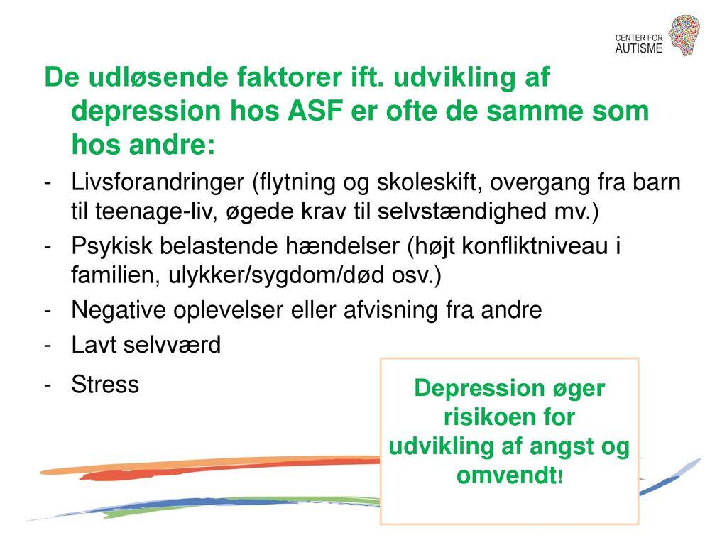 Depression øger risikoen for udvikling af angst og omvendt!
