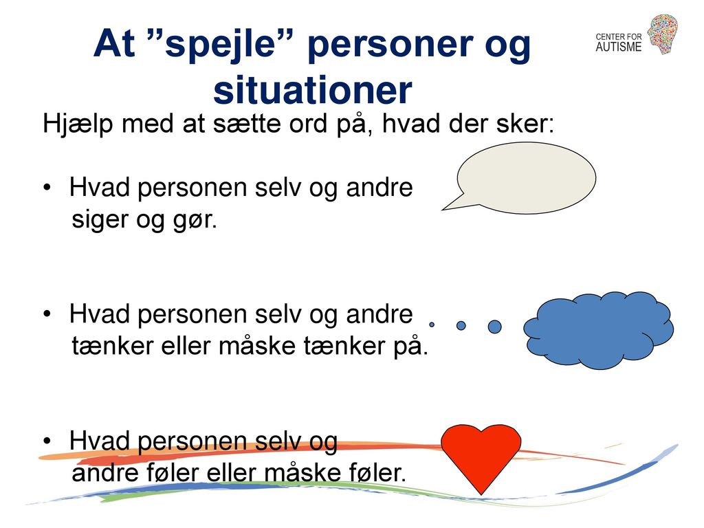 At spejle personer og situationer