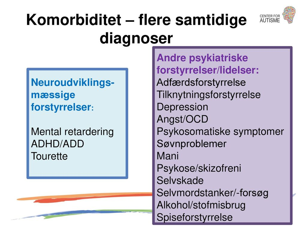 Komorbiditet – flere samtidige diagnoser