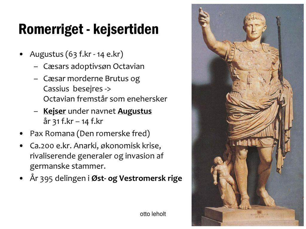 romerrigets første kejser