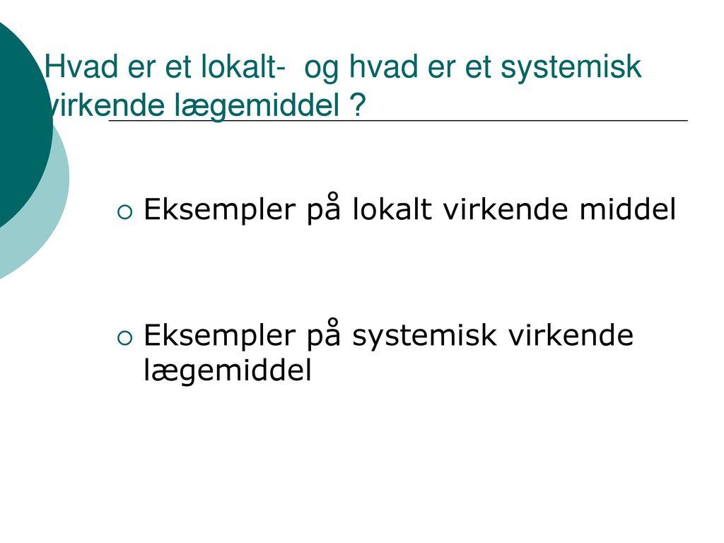 Ældre og medicin. - ppt download