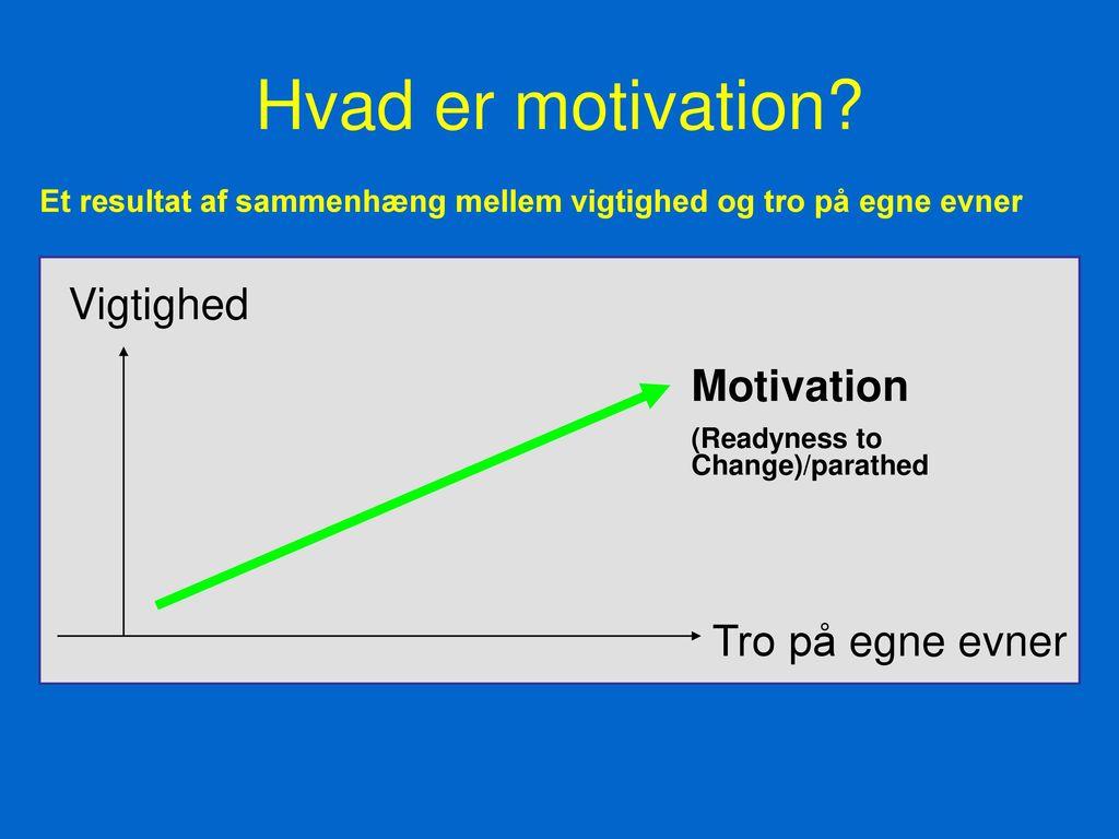 motivation i organisationer jeg har det svært