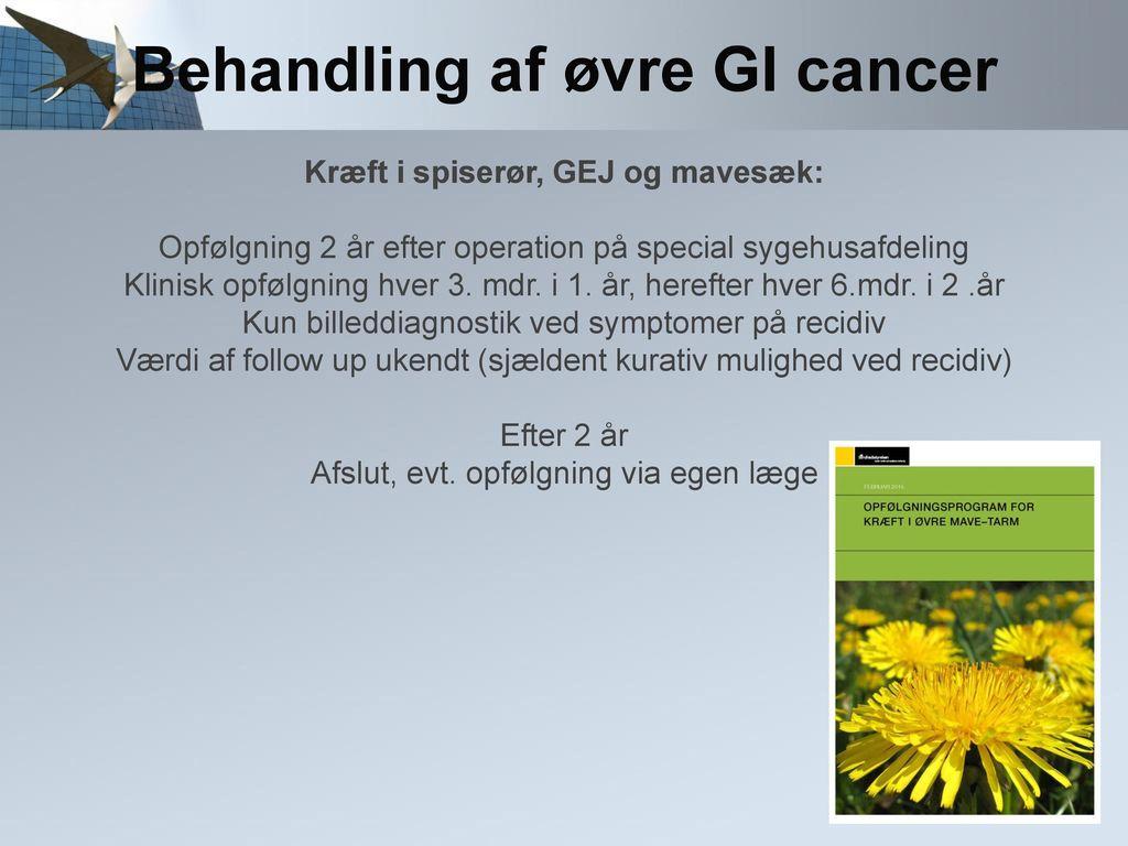 tarmkræft første symptomer