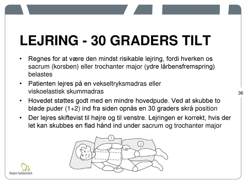 LEJRING - 30 GRADERS TILT