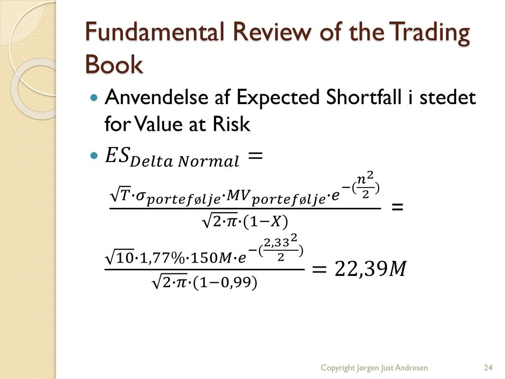 Fundamental Review of the Trading Book