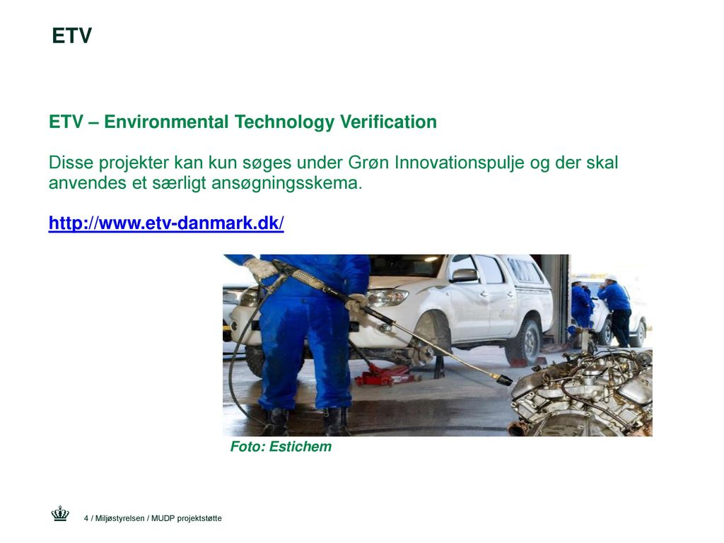 ETV ETV – Environmental Technology Verification