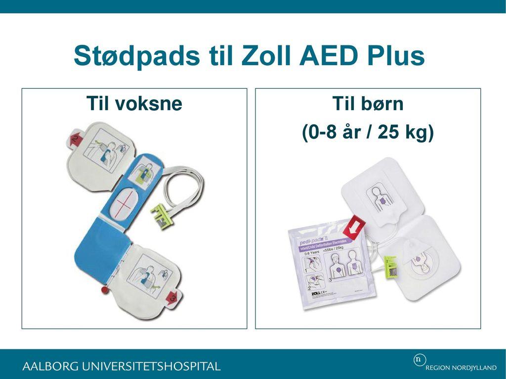 Stødpads til Zoll AED Plus