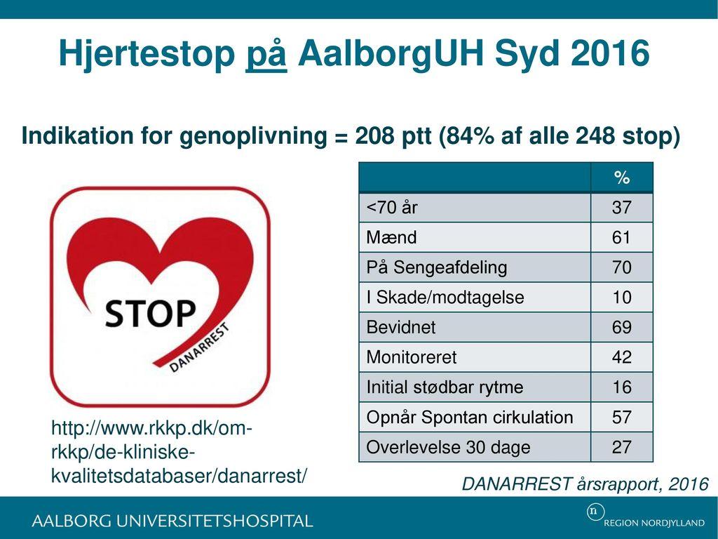 Hjertestop på AalborgUH Syd 2016