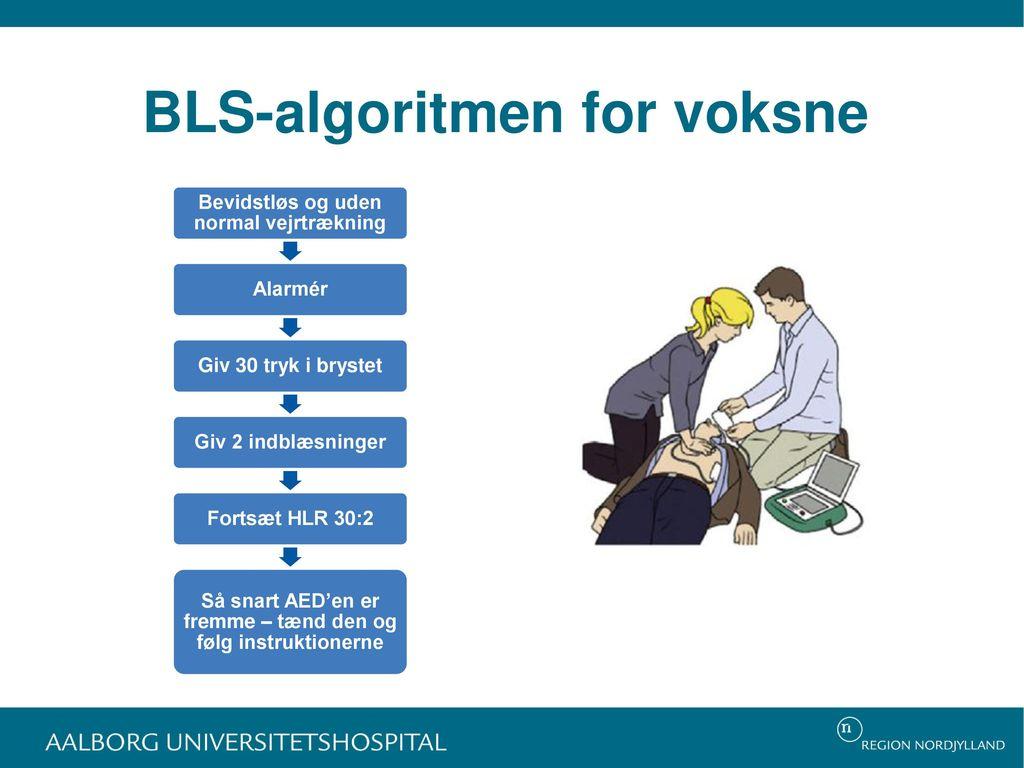 BLS-algoritmen for voksne