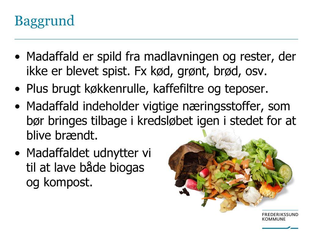 madaffald til biogas