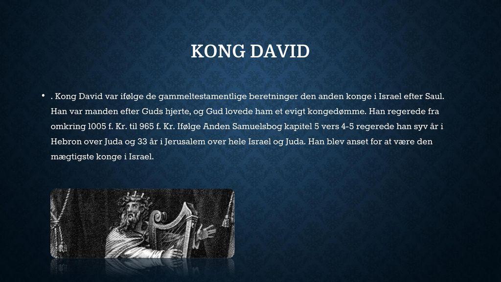 israels anden konge