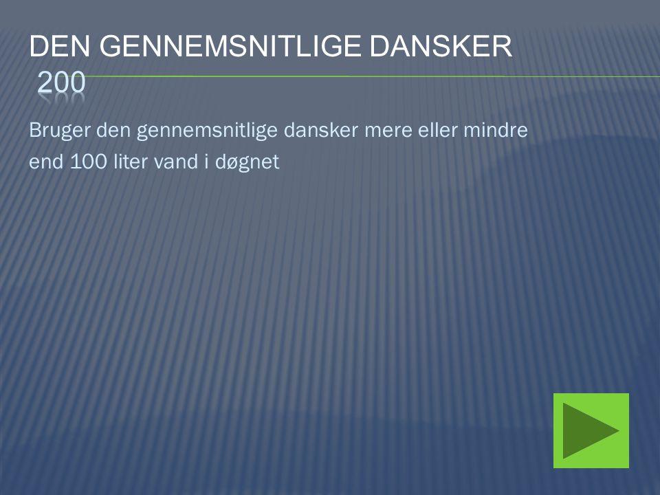 Den gennemsnitlige dansker 200