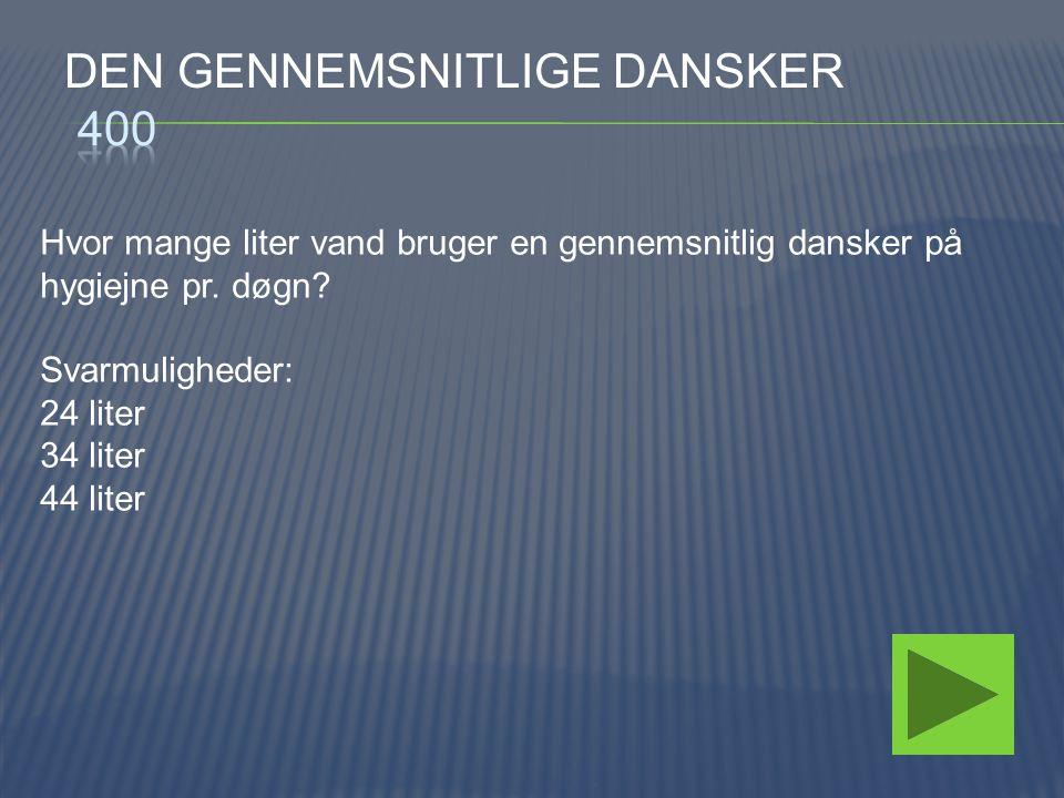 Den gennemsnitlige dansker 400