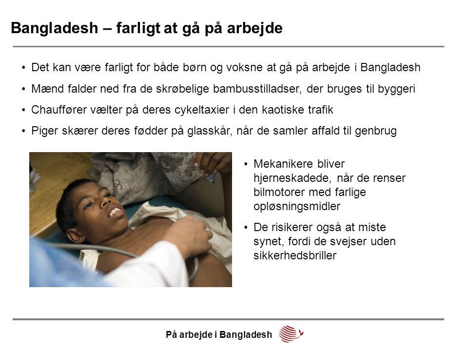Bangladesh – farligt at gå på arbejde