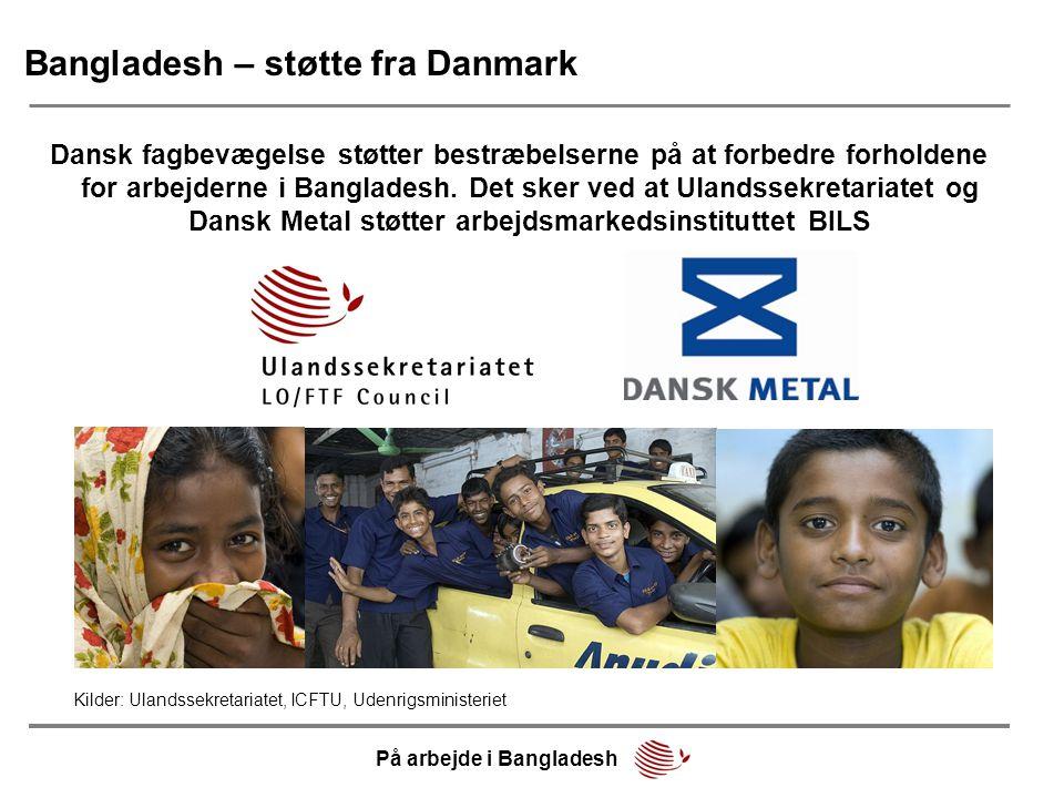 Bangladesh – støtte fra Danmark
