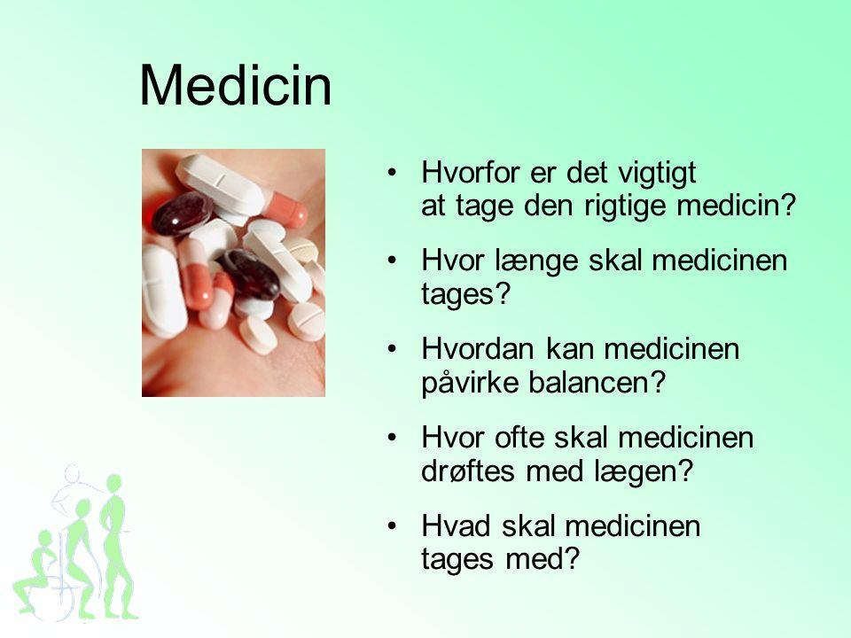 Medicin Hvorfor er det vigtigt at tage den rigtige medicin