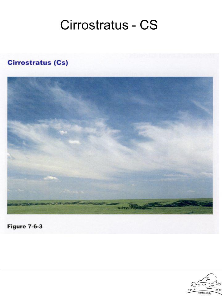 Cirrostratus - CS Meteorology