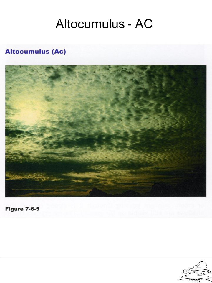 Altocumulus - AC Meteorology