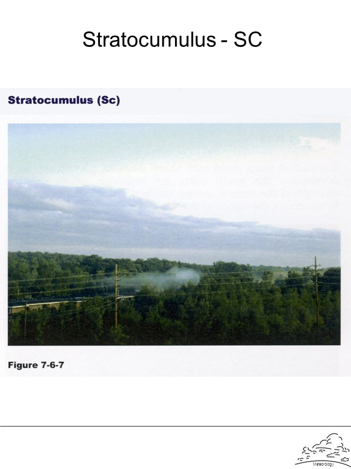 Stratocumulus - SC Meteorology