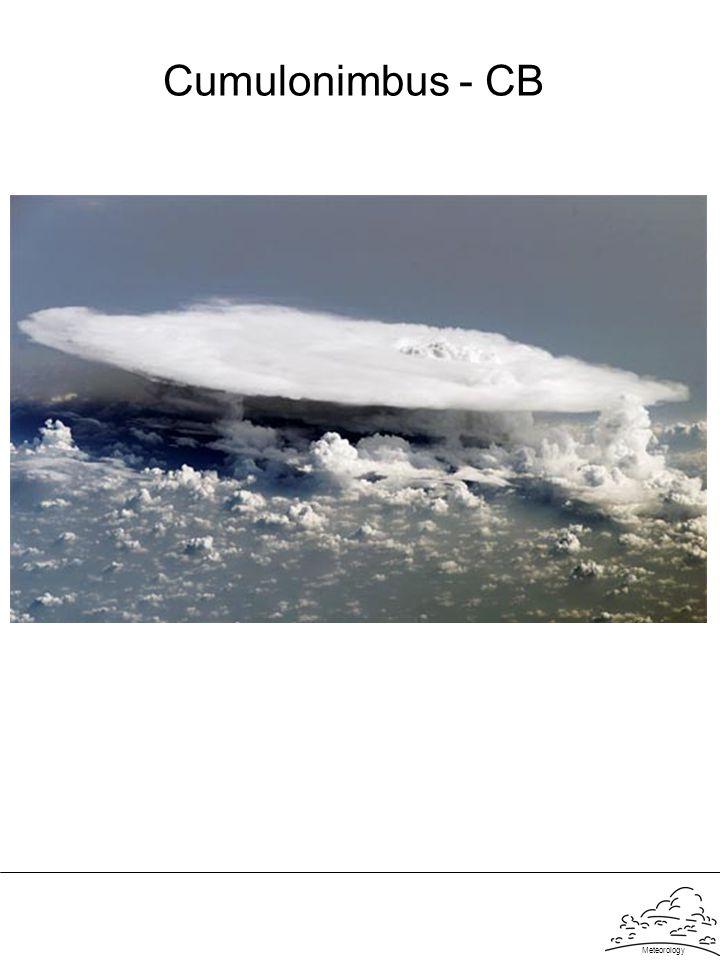 Cumulonimbus - CB Meteorology
