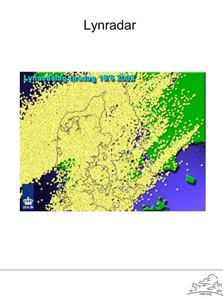Lynradar Meteorology