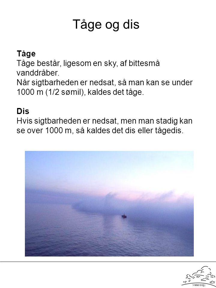 Tåge og dis