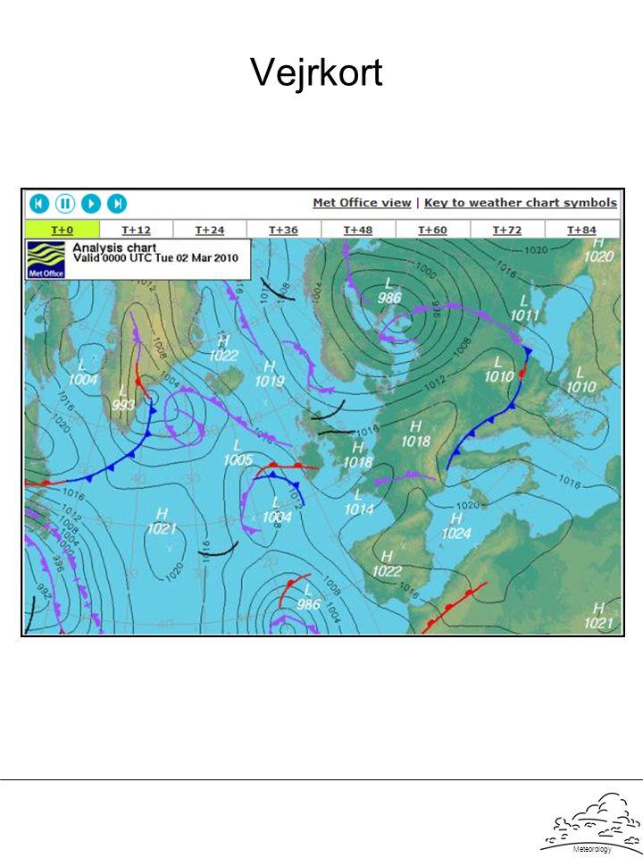 Vejrkort Meteorology