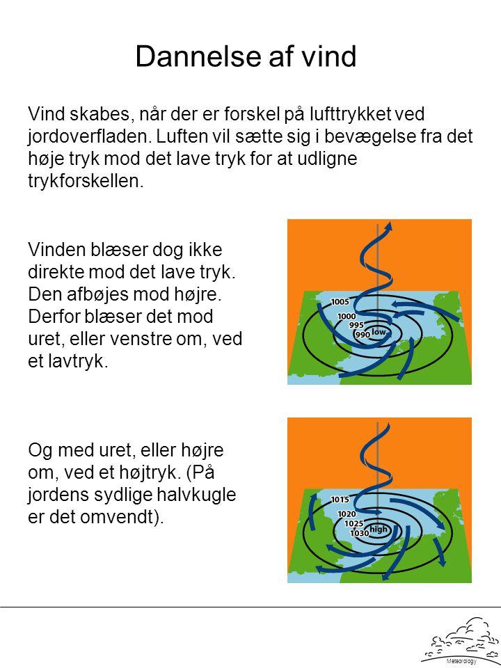 Dannelse af vind