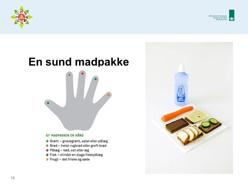 En sund madpakke Dias 10 – gi madpakken en hånd