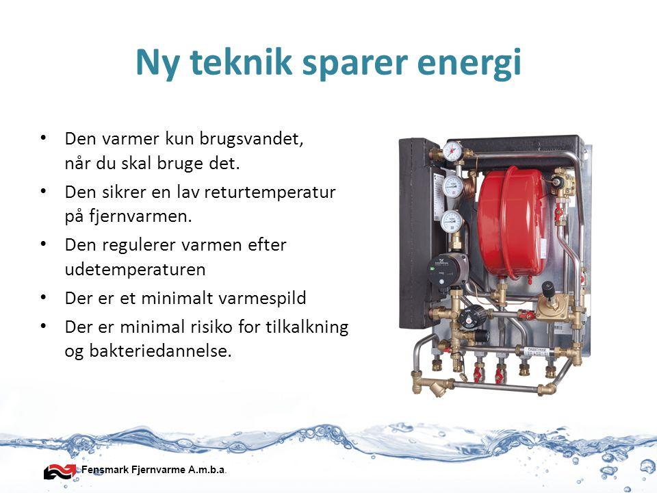 Ny teknik sparer energi