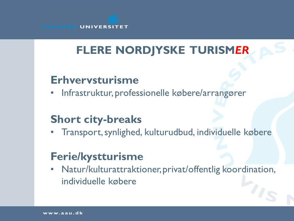FLERE NORDJYSKE TURISMER