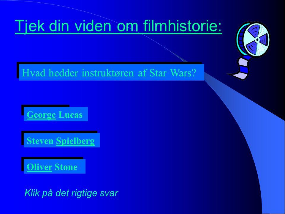 Tjek din viden om filmhistorie:
