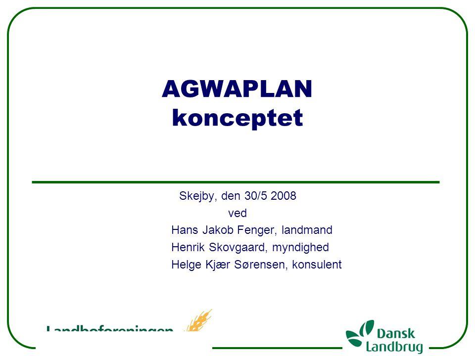 AGWAPLAN konceptet Skejby, den 30/5 2008 ved