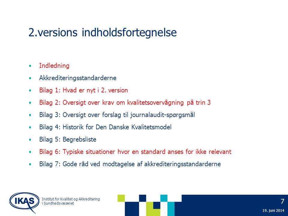 2.versions indholdsfortegnelse