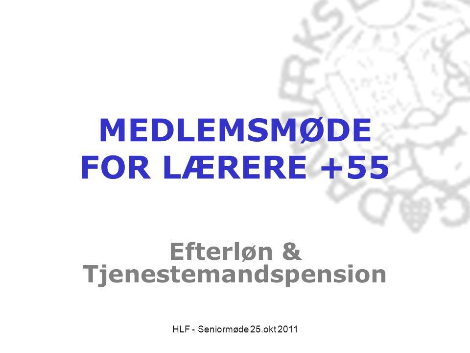 MEDLEMSMØDE FOR LÆRERE +55