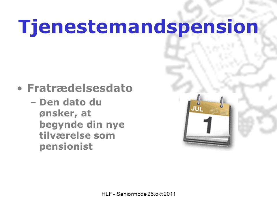 Tjenestemandspension