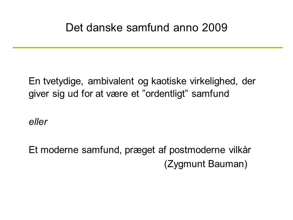 Det danske samfund anno 2009