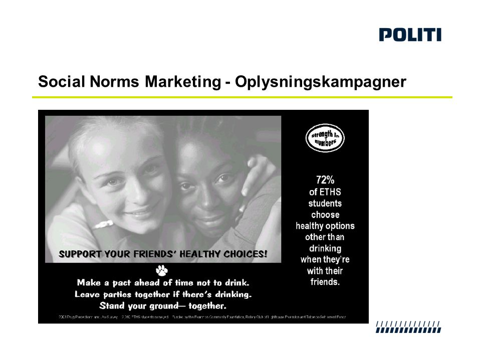 Social Norms Marketing - Oplysningskampagner