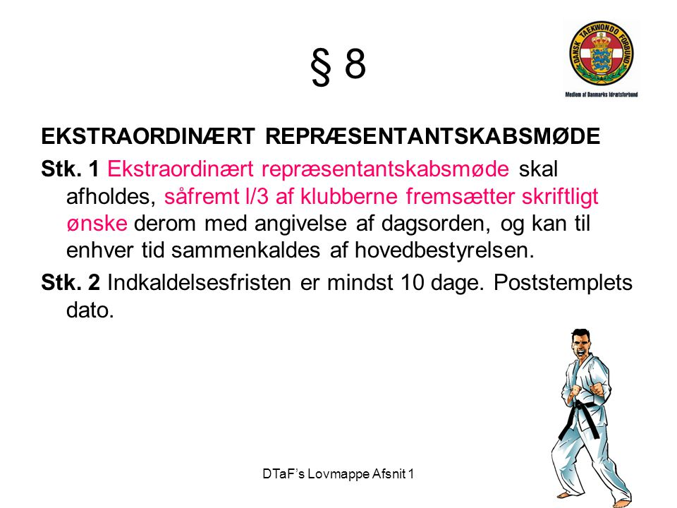 DTaF's Lovmappe Afsnit 1