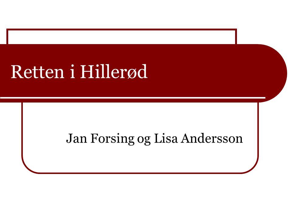 Jan Forsing og Lisa Andersson