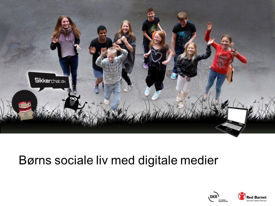 Børns sociale liv med digitale medier