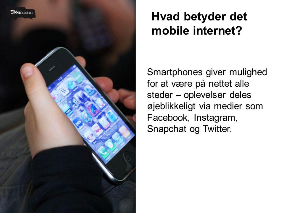 Hvad betyder det mobile internet