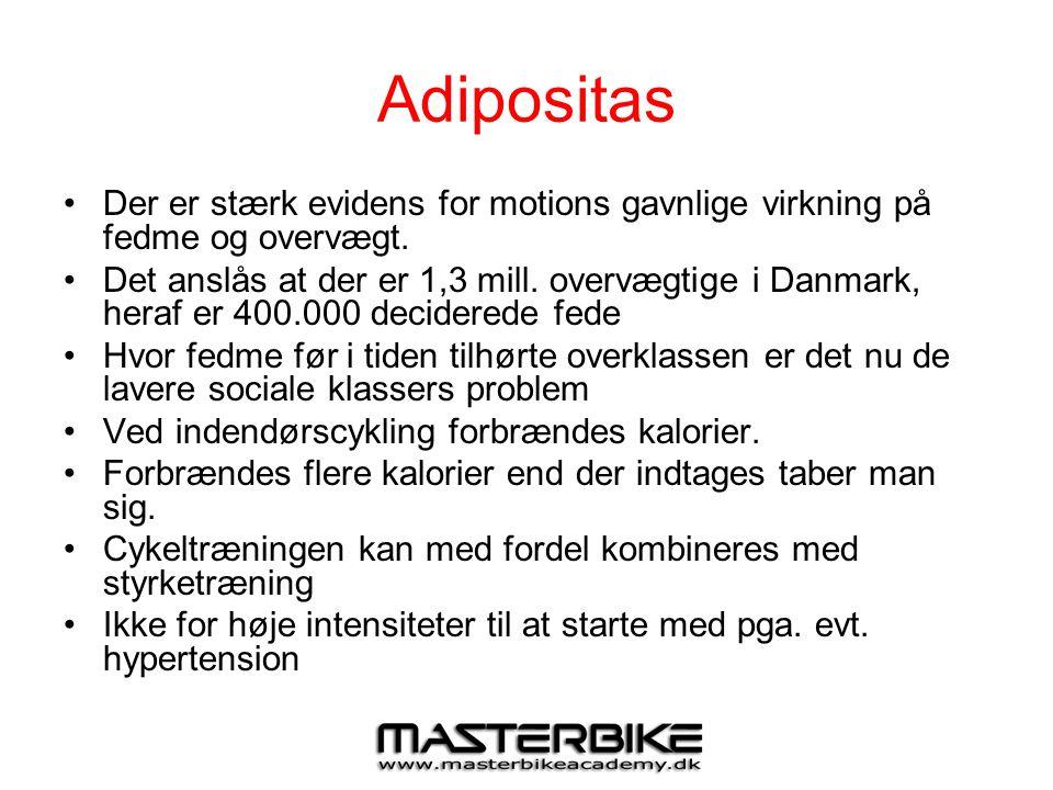Adipositas Der er stærk evidens for motions gavnlige virkning på fedme og overvægt.