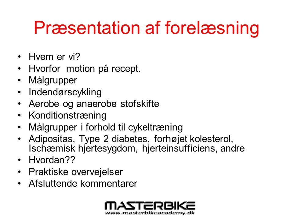 Præsentation af forelæsning