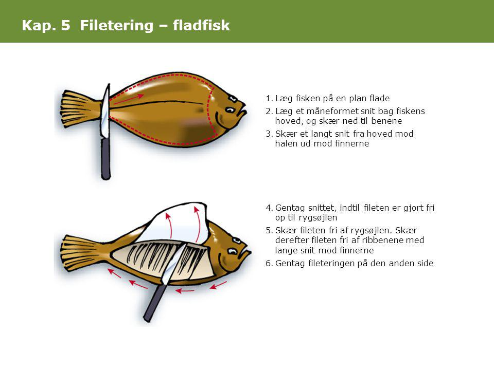 Kap. 5 Filetering – fladfisk