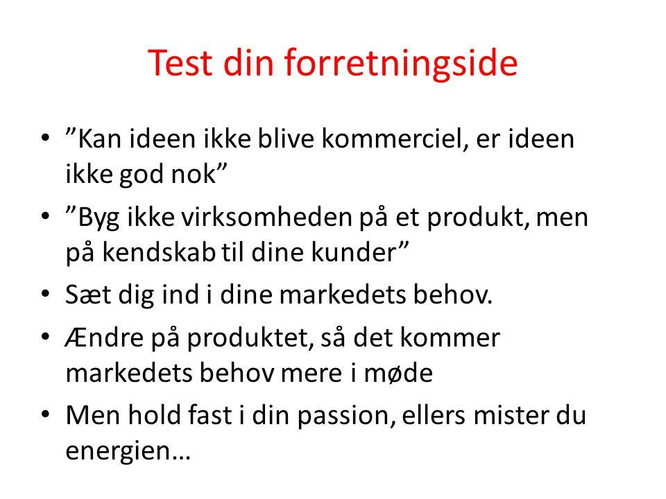 Test din forretningside