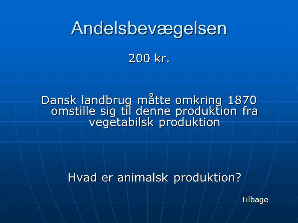 Hvad er animalsk produktion