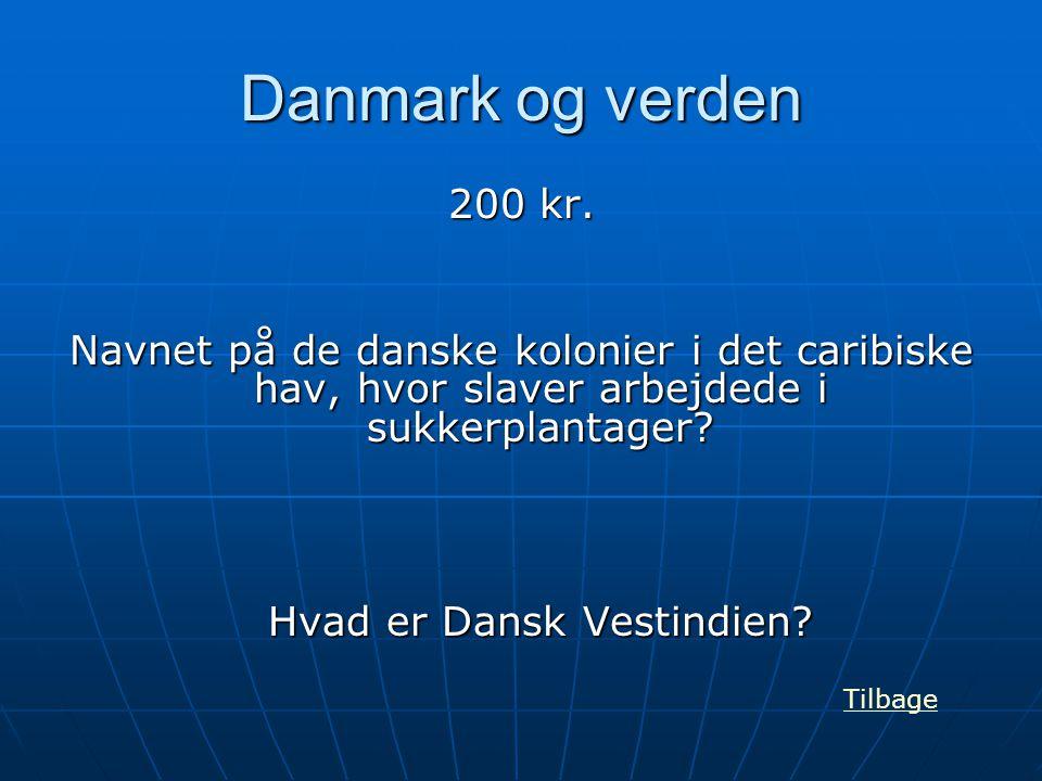 Hvad er Dansk Vestindien