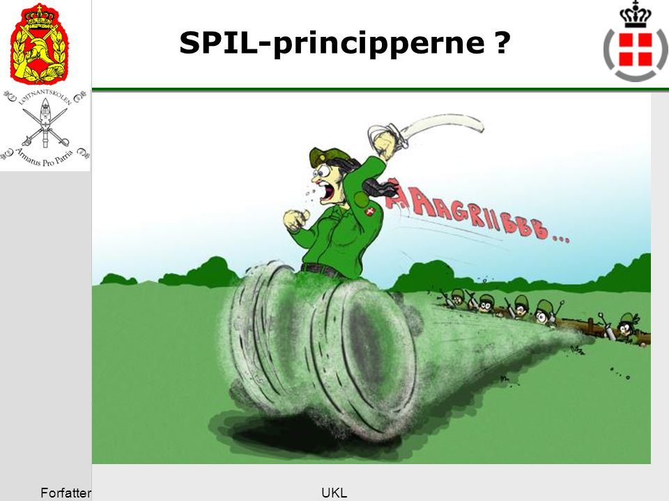 SPIL-principperne Forfatter UKL